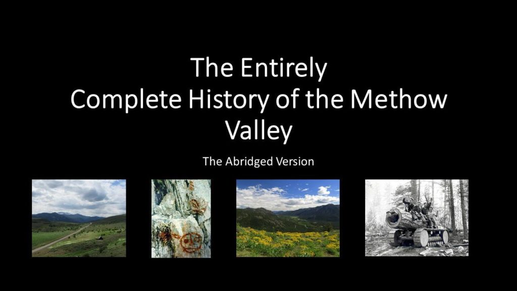 History of the Methow